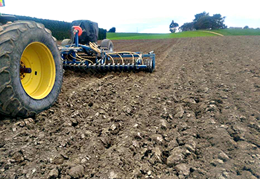 Southern Cultivation Roller Drilling South Otago